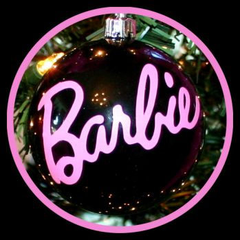 Barbie Christmas Ornament by dreamhousedolls@Esty