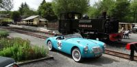 MGA and Steam engine in Wales