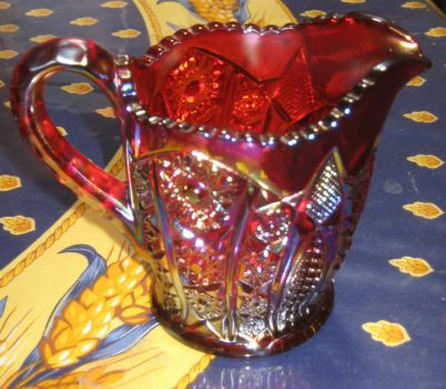 Red Depression Glass