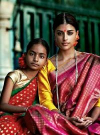 sisters in saris