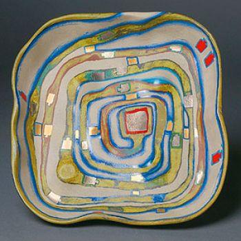 Hundertwasser - plate