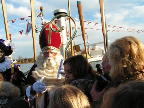 Arrival of Sinterklaas, typical Dutch #2