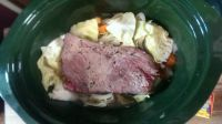 Corned Beef and Cabbage - Before