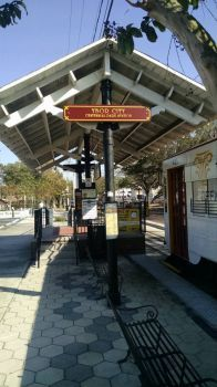 Ybor trolly station