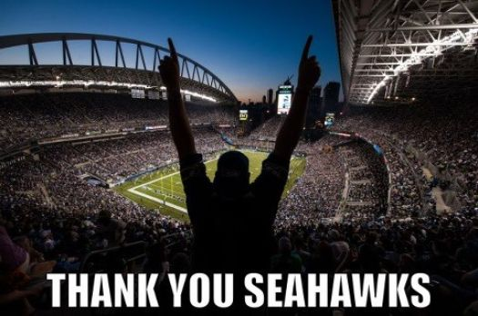 Thank you Seahawks!