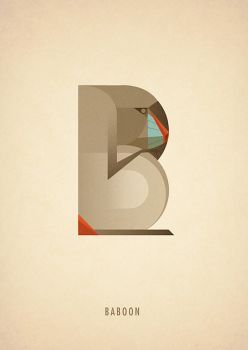 Animal Alphabet - B is for Baboon