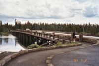 Bridge at Yellowstone Park