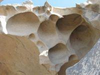 Capo d'Orso area, Sardinia: erosion holes (tafoni)
