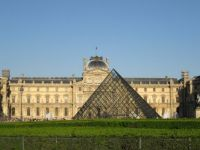 I.M. Pei Glass Pyramid, The Louvre, Paris