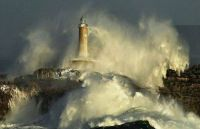 Lighthouse, Mouro, Spain