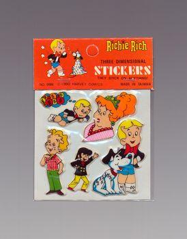 Richie Rich Three Dimensional Stickers