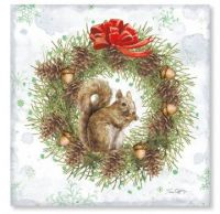The Squirrel's Eating the Wreath