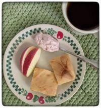 Passover with homemade matzoh. . .