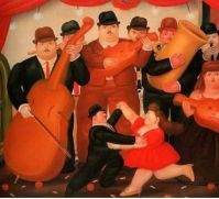 Fernando Botero - Ball In Colombia