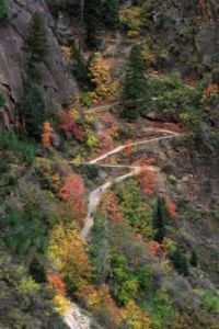 Hidden canyon trail, Utah