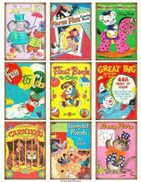 Vintage Color Books (833)