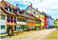 The Colours of Swiss Houses