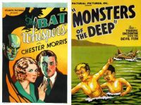 The Bat Whispers ~ 1930 and Monsters of the Deep ~ 1931