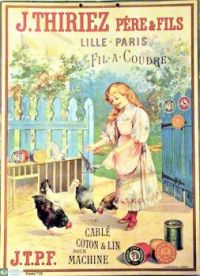 Themes Vintage ads - J.T.P.F Sewing Thread