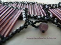 purple bracelet-medium