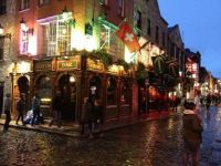 Temple Bar Street in Dublin