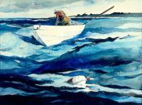Andrew Wyeth The Lobsterman