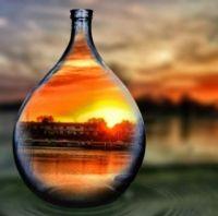Bottled Nebraska Sunset