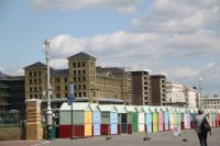 Bathing Huts, Brighton England