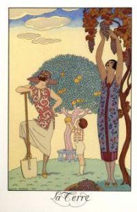Geroges Barbier (1882-1932) - La Terre