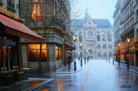Beautiful Night Cityscapes Paintings by Alexey Butyrsky 6