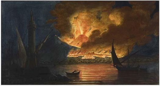 Compton Verney in Warwickshire traces how volcanoes have inspired artists