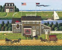 The Red Whale Inn by Charles Wysocki