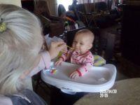 Erabella likes bananas!