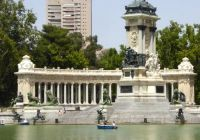Buen Retiro Park, Madrid, Spain.