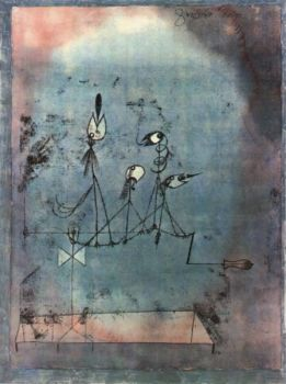 The Twittering Machine by Paul Klee