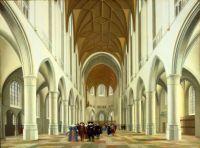 Interior of St. Bavo, Haarlem