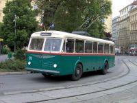 Trolejbus Škoda 6Tr Brno