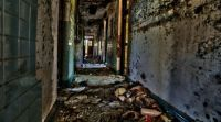Haunting images of abandoned mental asylum - 9