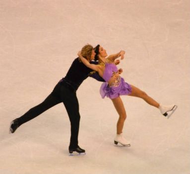Ice Dancing, Gold Medal winners at US Championships.  Davis and White.