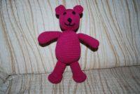 crochet teddy bear / háčkovaný medvídek
