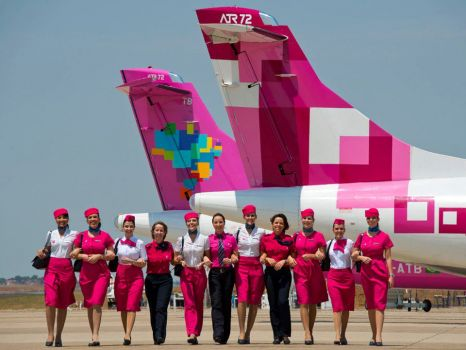 Azul Airline - Breast Cancer Aid