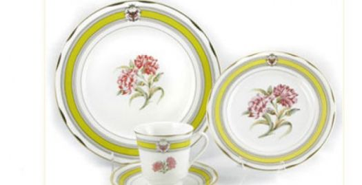 Which president used this china in the White House?
