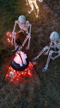Halloween Campfire