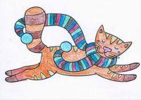 Pets Coloring Cat