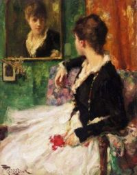 The looking glass  Fernand Toussaint