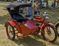 1916 Indian Motorcycle with Sidecar.