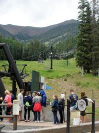 Ski lift at Arizona Snowbowl