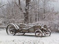 A Wagon in Winter