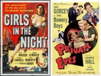 Girls in the Night ~ 1953 and Private Eyes ~ 1953