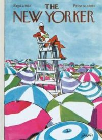The New Yorker - September 2, 1972 / Cover art by Charles Saxon